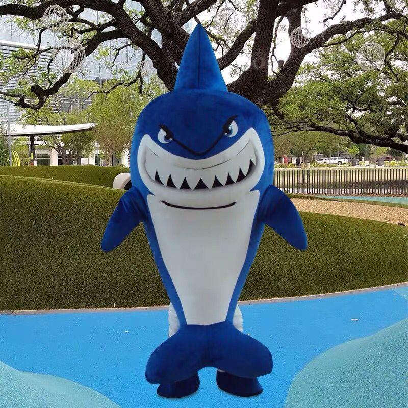NEW акулы костюм талисмана Костюмированный Взрослый костюм Размер R160