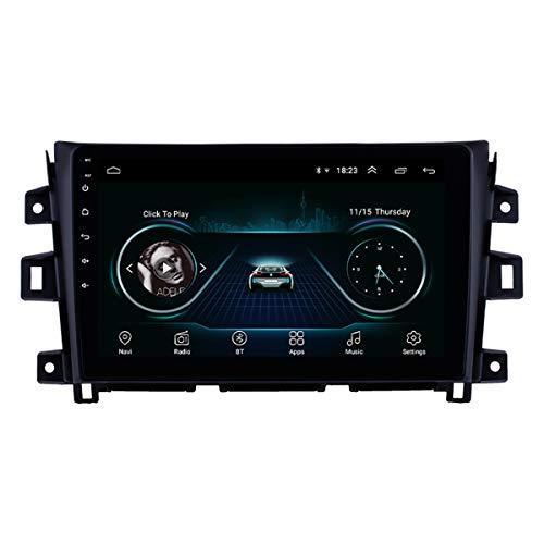 Android 9.0 10.1 polegadas Car Radio GPS Navigation 2011-2016 Nissan Navara Bluetooth Touchscreen estéreo com música AUX WIFI