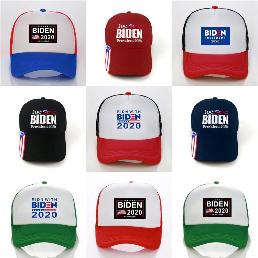 Новые Женщины Мужчины США Вышивка Шляпа Байден 2020 Кепка Бейсболки Сделать Америку Великой Снова Шляпы Спортивная Шляпа Женские Snapback Мужские Snapbacks #323