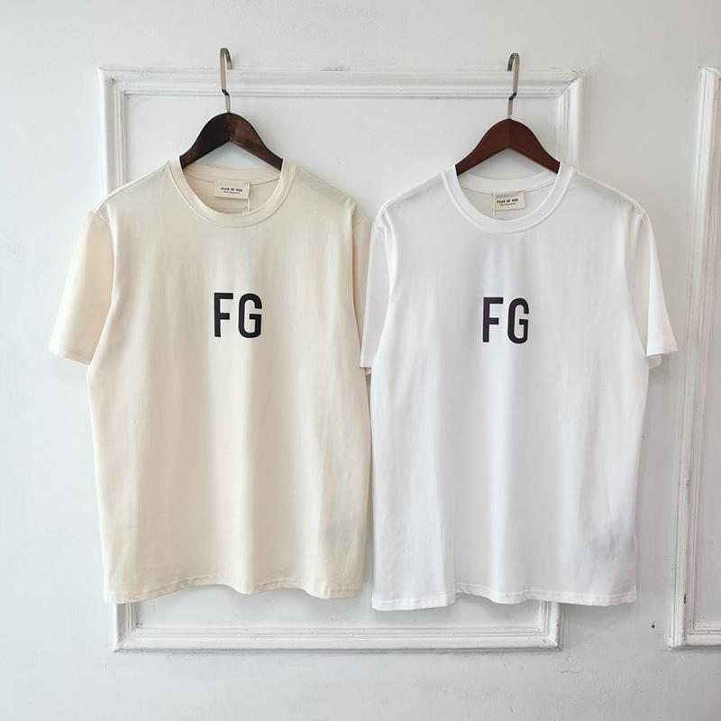 2020 Avrupa Hip Hop Tanrı SİS FG 3M Yansıtıcı T Gömlek korkusu Tshirt Bay Bayan ABD Boyut Pamuk Kısa Kollu Tee Soğuk kaykay Soğuk
