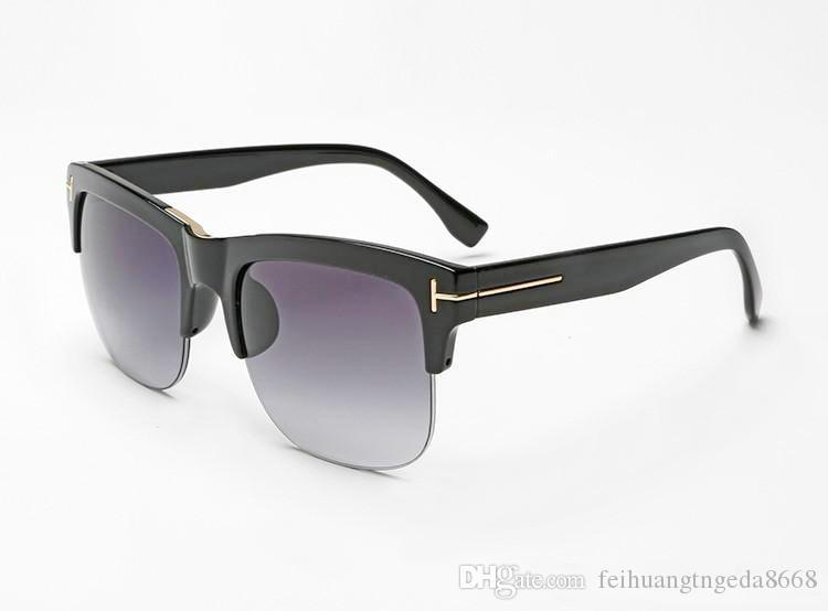 2019 New luxury top qualtiy New Fashion TF16 Tom Occhiali da sole per uomo donna Erika Eyewear ford Designer flat Brand occhiali da sole box 69 87