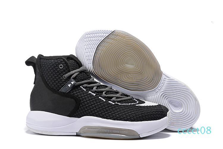 2019 nuovo arriva Zoom Rise2019 Sneakers Fluorescente Verde Nero Designer X di pallacanestro di modo Mens allenatori sportivi scarpe da tennis Taglia 40-46 CT08