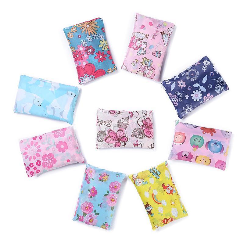 Nuovo Nylon Impermeabile Pieghevole Shopping Bags Eco Friendly Shopping Bags Tote Bags Grande Capacità Di Trasporto Libero