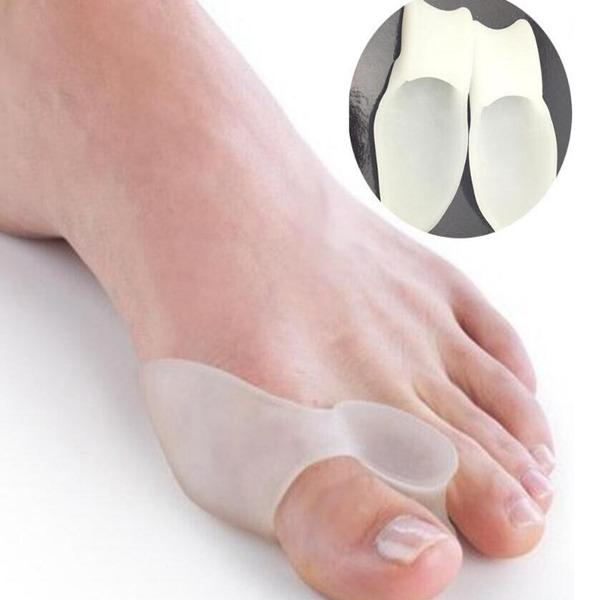 Toe hallux valgus Correcteur gel de silicone Spreader pieds Soins séparateur pieds Bunion Garde Toe Brancard Lisseur 500pairs