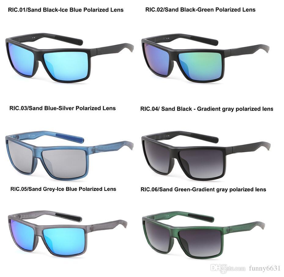 estate nuovi uomini polarizzati degli occhiali da sole donne in bicicletta Occhiali da sole in bicicletta Sport all'aria aperta di Sun degli occhiali di vetro 6colors libera il trasporto
