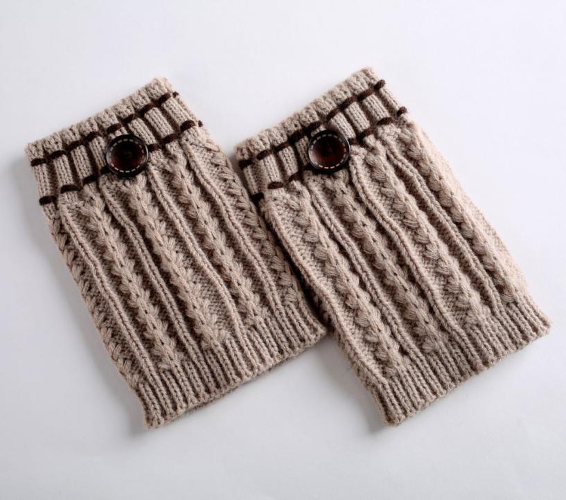 23 Ocak nakliye 2018 Yeni SICAK SATIŞ Kış Kadın 1 Çifti Örme Ayak Isıtıcıları Çorap Boot Kapak Yeni Moda Şaşırtıcı damla