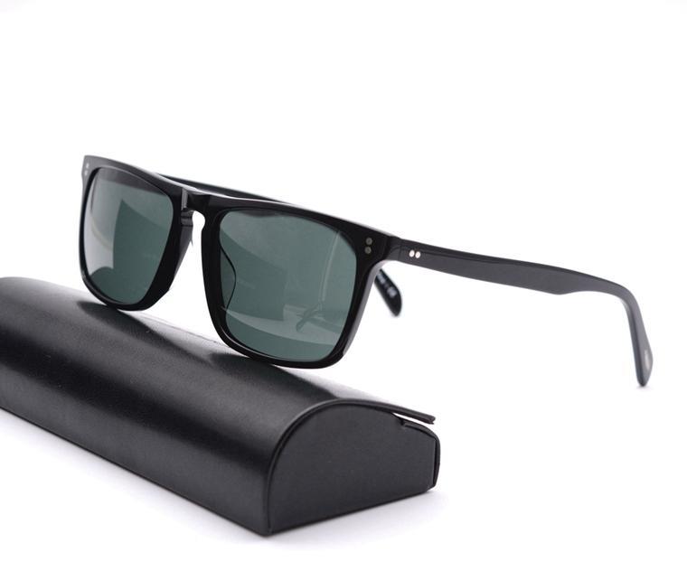 Gros-peuples OV5189-S lentille en verre Rectangle Cadre lunettes de soleil OV5189 Vintage Hommes et femmes lunettes de soleil de haute qualité avec boîte d'origine