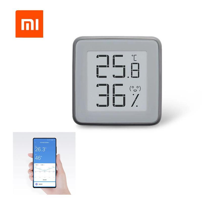 [ترقية الإصدار] XIAOMI شاشة MMC الحبر E BT2.0 الذكية بلوتوث ميزان الحرارة رطوبة يعمل مع أدوات MIJIA التطبيقات الرئيسية أداة