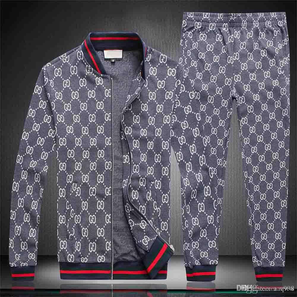 20ss Mens del chándal Pantalones Conjuntos de dos piezas de ropa de fiesta de la playa camisas juego de los hombres Streetwear Moda impresa flor Sweat Pant