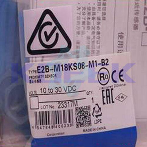 Omron yakınlık sensörü 1 adet yeni E2B-M18KS08-M1-B2 hızlı teslimat