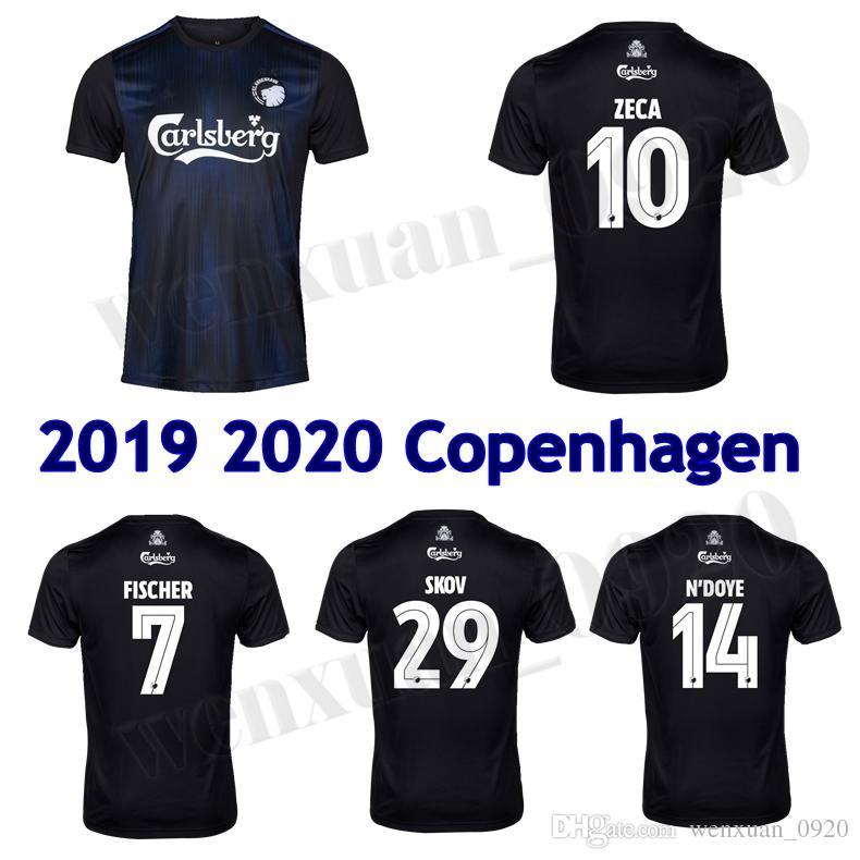 Acquista 2019 2020 Maglia Da Calcio FC Copenhagen 19 20 Away Skov Fischer Maglia Da Calcio Zeca NDoye Demark Super Liga Jersey A 11,6 € Dal ...
