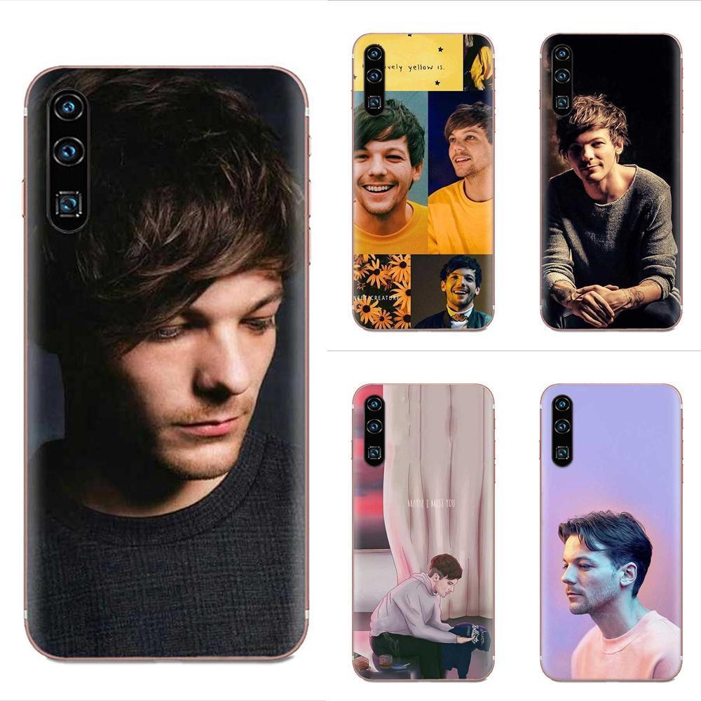Custom One Direction Louis For Xiaomi Redmi Mi 4 7A 9T K20 CC9 CC9e Note 7 8 9 Y3 SE Pro Prime Go Play Soft New Style