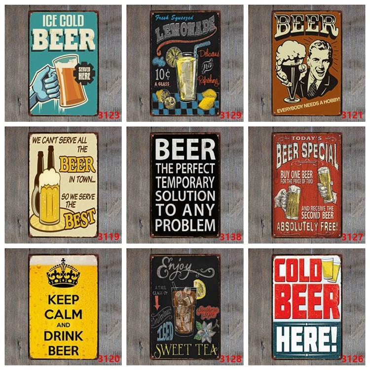 Beer Special Absolutely Free Vintage Metal Sign