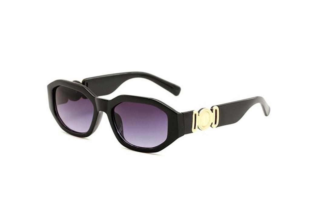 2020 novos alta qualidade óculos de madeira 4361 Medusa Marca óculos escuros de grife para mulheres dos homens Moda óculos de sol com búfalo caixa caso