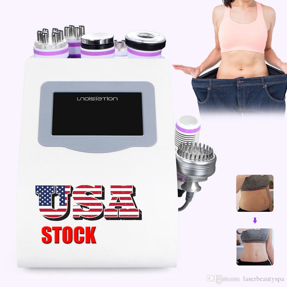 Spa Vacuum 3D RF 40K Unoisetion Cavitation Ultrasonic Photon Micro Current Face Body Slimming Lifting Beauty Machine