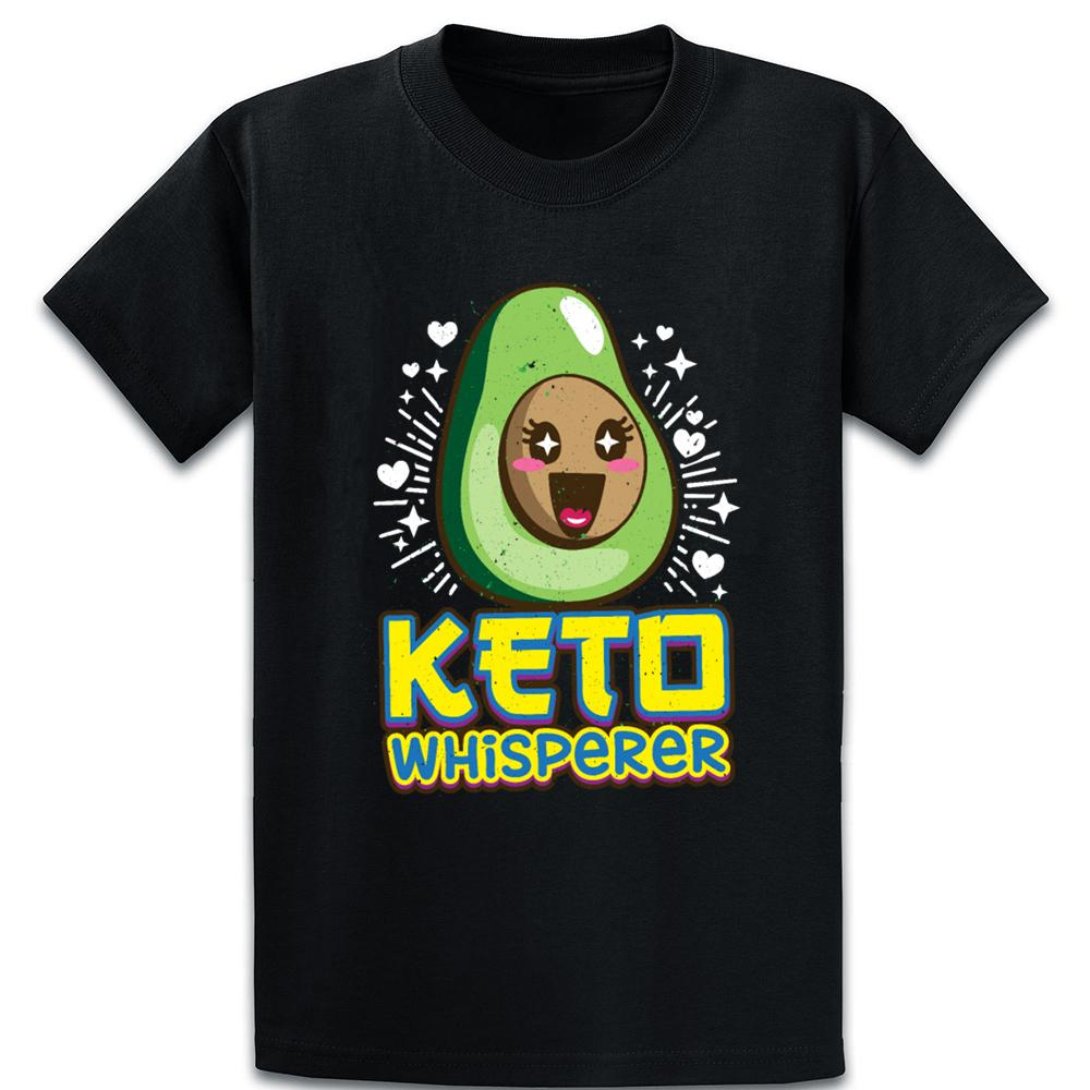 Keto Whisperer Cute Kawai Keto Lifestyle Fans T Shirt Tee Shirt Famous Solid Color Authentic Round Collar Standard Create Shirt