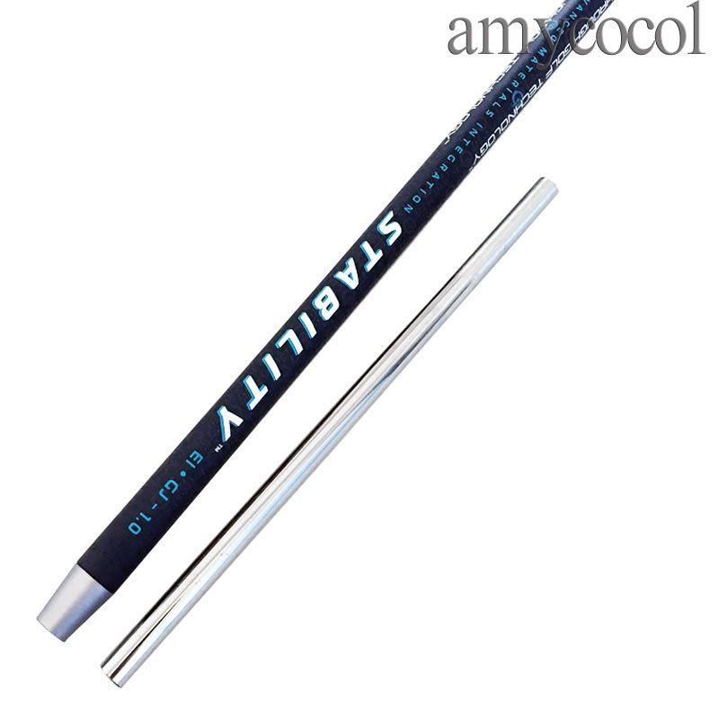 New Golf Shaft Adapter Golf Clubs Stability Ei GJ 1.0 Acciaio carbonio acciaio al carbonio combinato palter Asta albero nero tecnologia spedizione gratuita spedizione gratuita