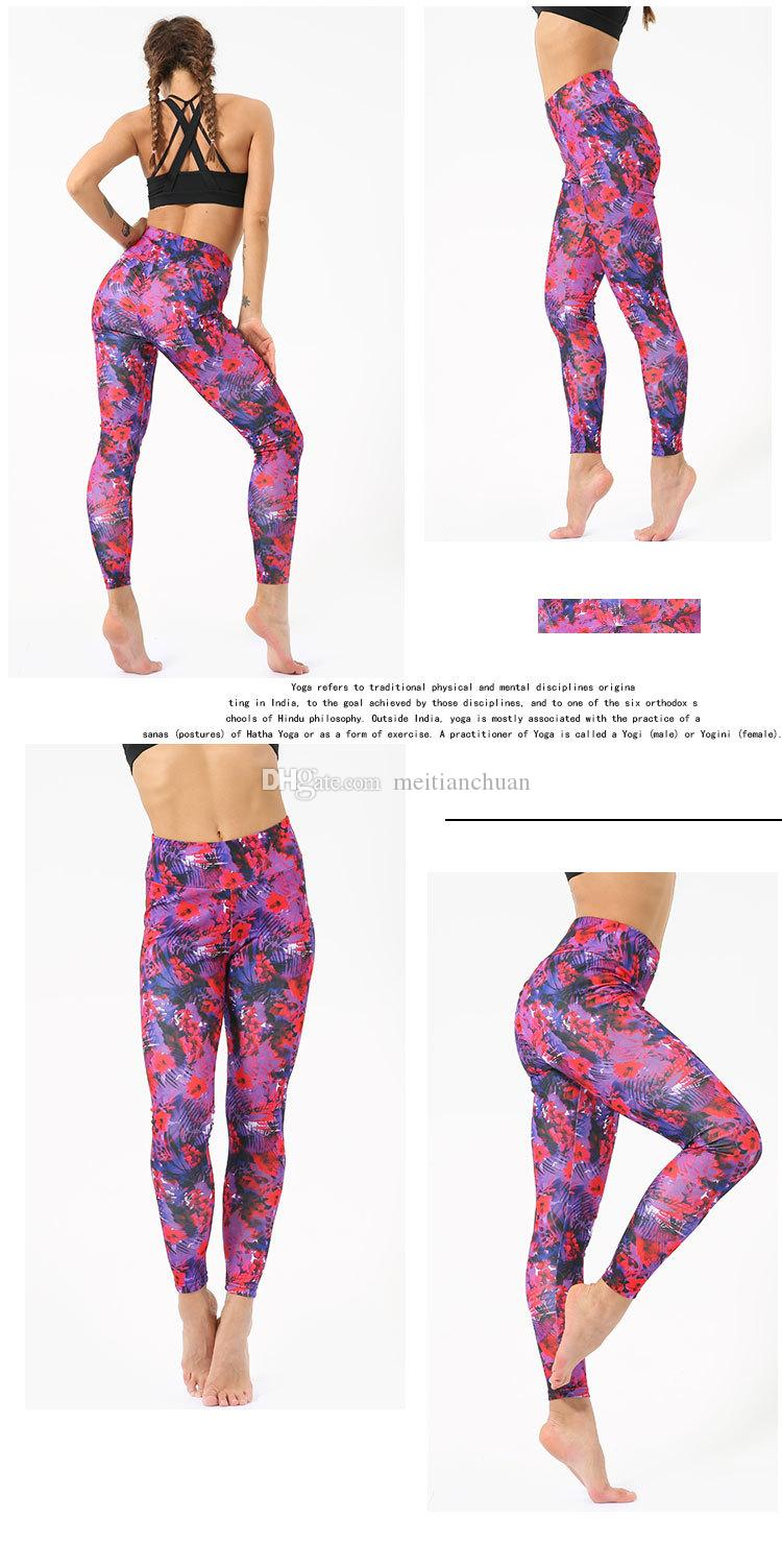 2020 Wholesale Yoga Pants Female Spring Summer Hot Style 2019 Running Rome Cloth Nine Minutes Printed Yoga Pants Manufacturers From Meitianchuan 18 77 Dhgate Com