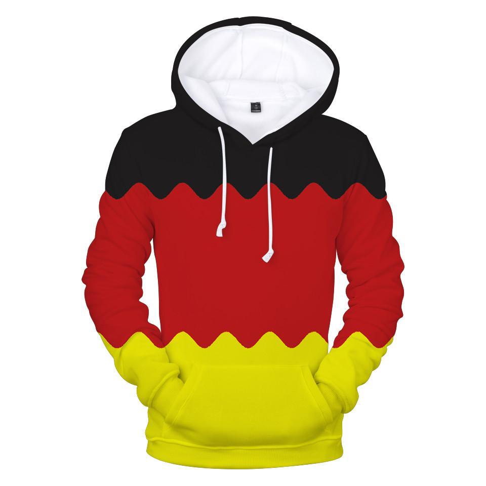 Nouveau drapeau du Portugal 3D Hoodies Sweat Hommes Femmes Hooded 3D Imprimer Drapeau National Portugais À Capuche Hiver Polluvers