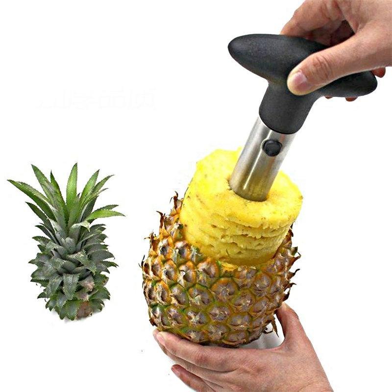 Acero inoxidable para la policía de la piña Herramientas Accesorios de cocina Piña máquinas de cortar cuchillo cortador de la fruta de la cocina y la cocina de la venta caliente