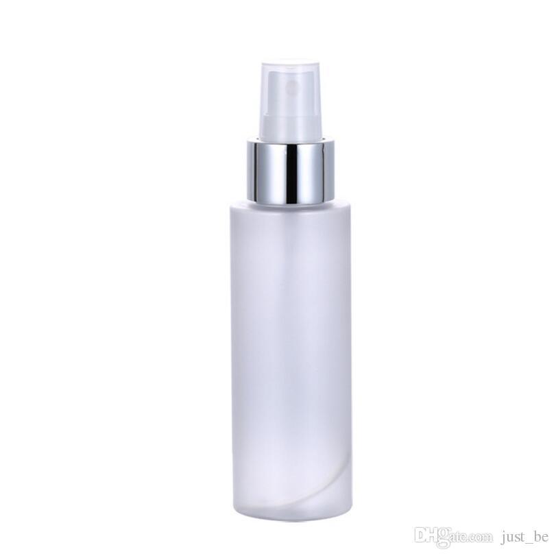 Toptan Sıcak 100 ml Pet Buzlu Plastik Boş Sprey Şişesi Seyahat Makyaj Parfüm Atomizer Konteyner Hızlı Kargo
