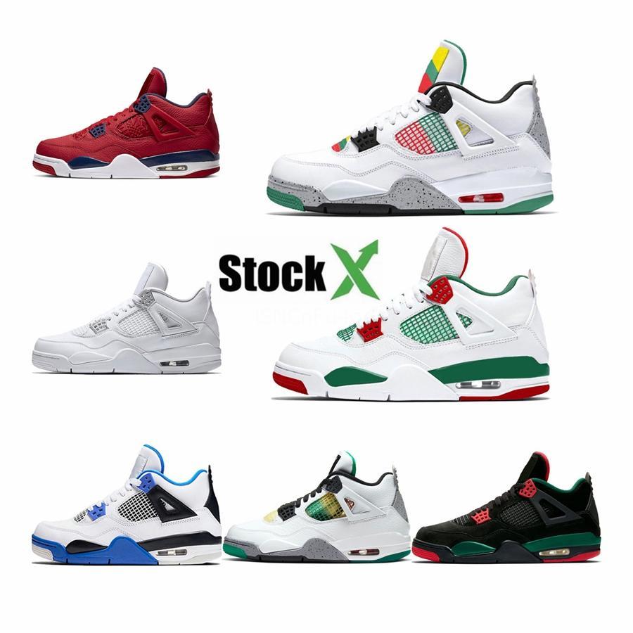 Top Quality Pk Versão Sapatilhas 4S Travis Scotts 4S Que Os Bred 11 Shoes Mens Basketball Cactus Jack Gamma azul infravermelho com caixa # 375