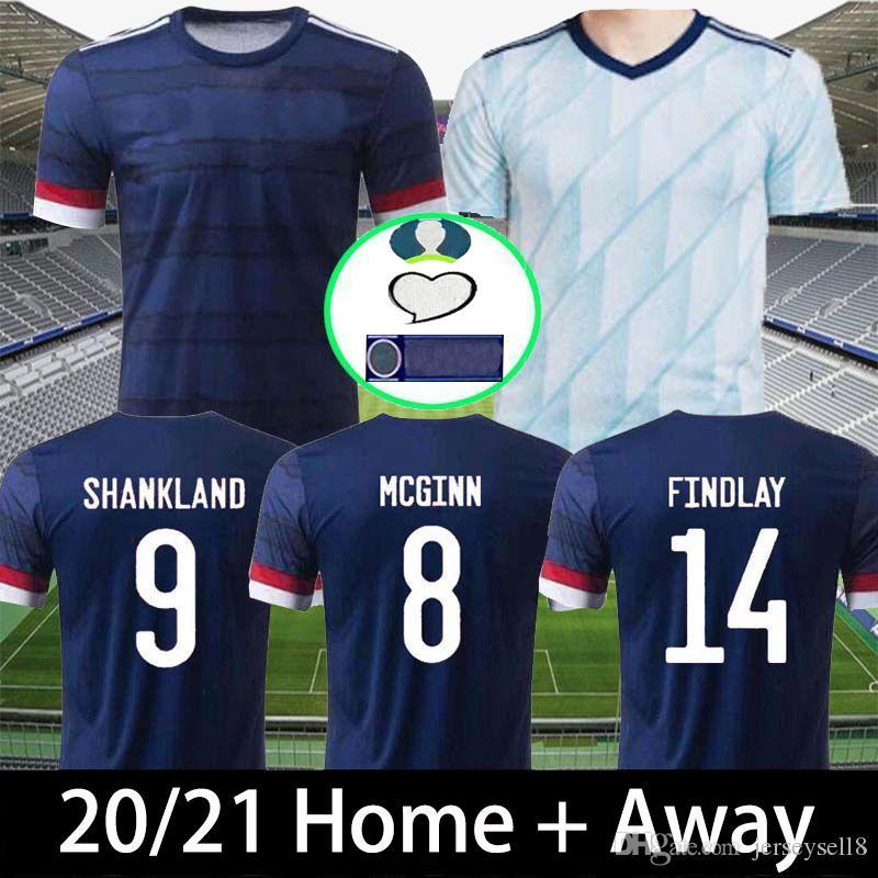 2020 Scotland soccer jersey 20 21euro cup Scotland football shirt ROBERTSON FRASER NAISMITH MCGREGOR CHRISTIE FORREST MCGINN Camiseta futbol