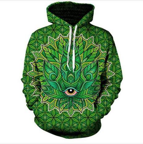 Fashion 3D Printed Psychedelic Men Women PulloVer Hoodies Street Wear Casual Hip Hop Pockets Sweatshirt Clothing ZGXL077