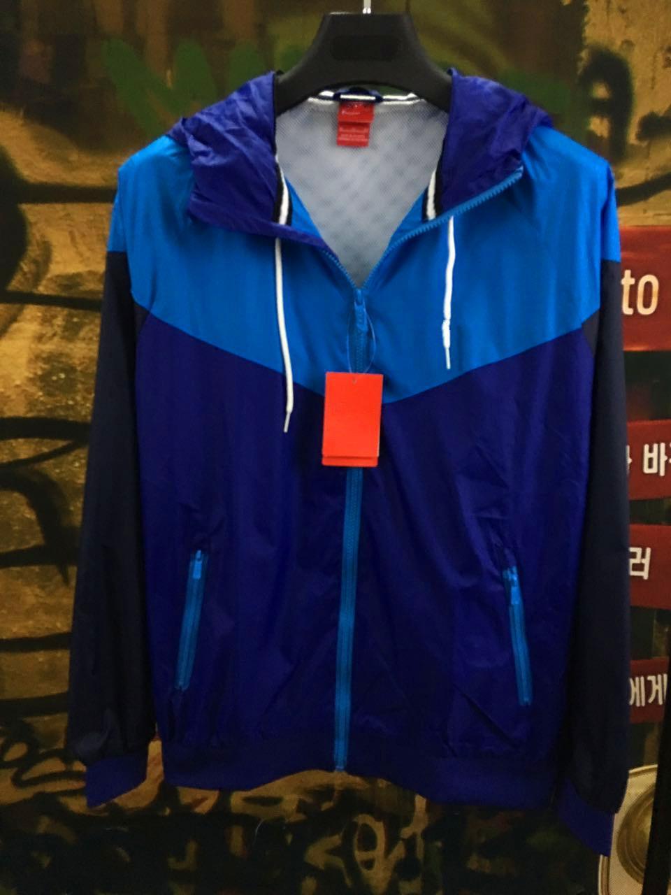 Moda-Hombres Primavera Otoño Windrunner Jacket Thin Jacket Coat Hombres Sports Windbreaker Casual Paneled Coats Hombre Chándal Envío gratis
