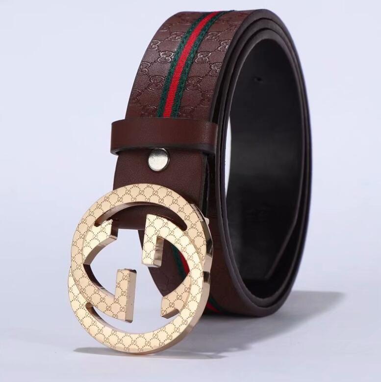 cinture di lusso cinture di marca per gli uomini fibbia della cintura maschile cinture di castità in alto il trasporto libero uomini di modo cinghia di cuoio all'ingrosso con la scatola