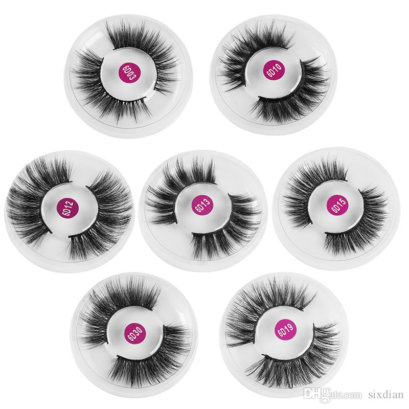 Neue 3D Wimpern Falsche Wimpern Full Strip Natürliche Lange Wimpern Wimpernverlängerung Gefälschte Wimpern Make-Up Für Schönheit Maquiagem