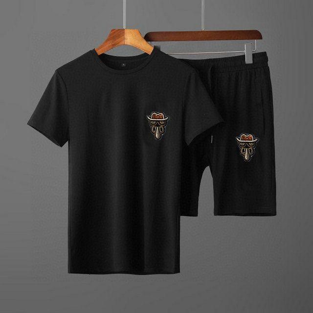 2020 High quality Men Sports sets blouse + trousers 2pcs Spring and Autumn Leisure sets Men clothing X2C9