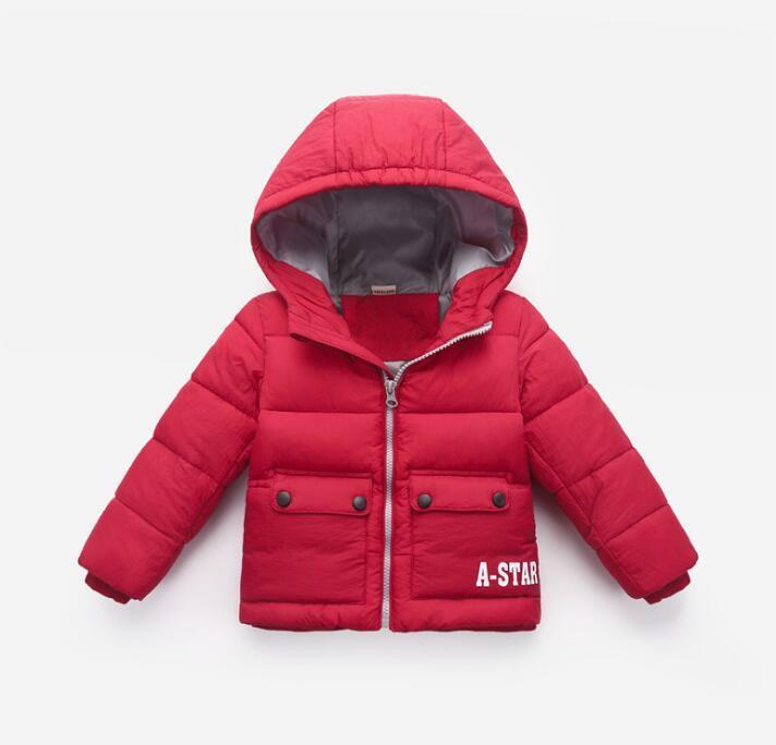 piumini per bambini per uomo e donna, abbigliamento per bambini, abbigliamento in cotone, giacche corte, baby imbottita giacche WY1291