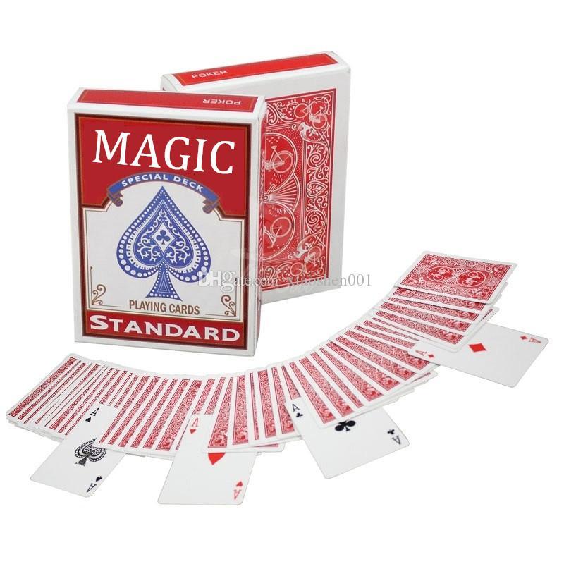 Stripper Baralho Secreto Marcado Baralho Pôquer Cartões Mágicos Magia Pprops Close-up Rua Truques de Mágica Kid Criança Enigma Brinquedo Presentes