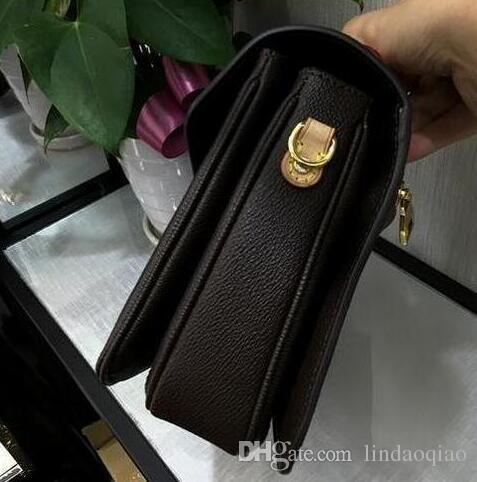 Veloce Donne preferite Brown Fashion Metis Borsa in pelle Real Borsa in pelle Borsa Nuova Borsa stampata Drop Shipping Metis Pochette Brand Soho fl USAFU