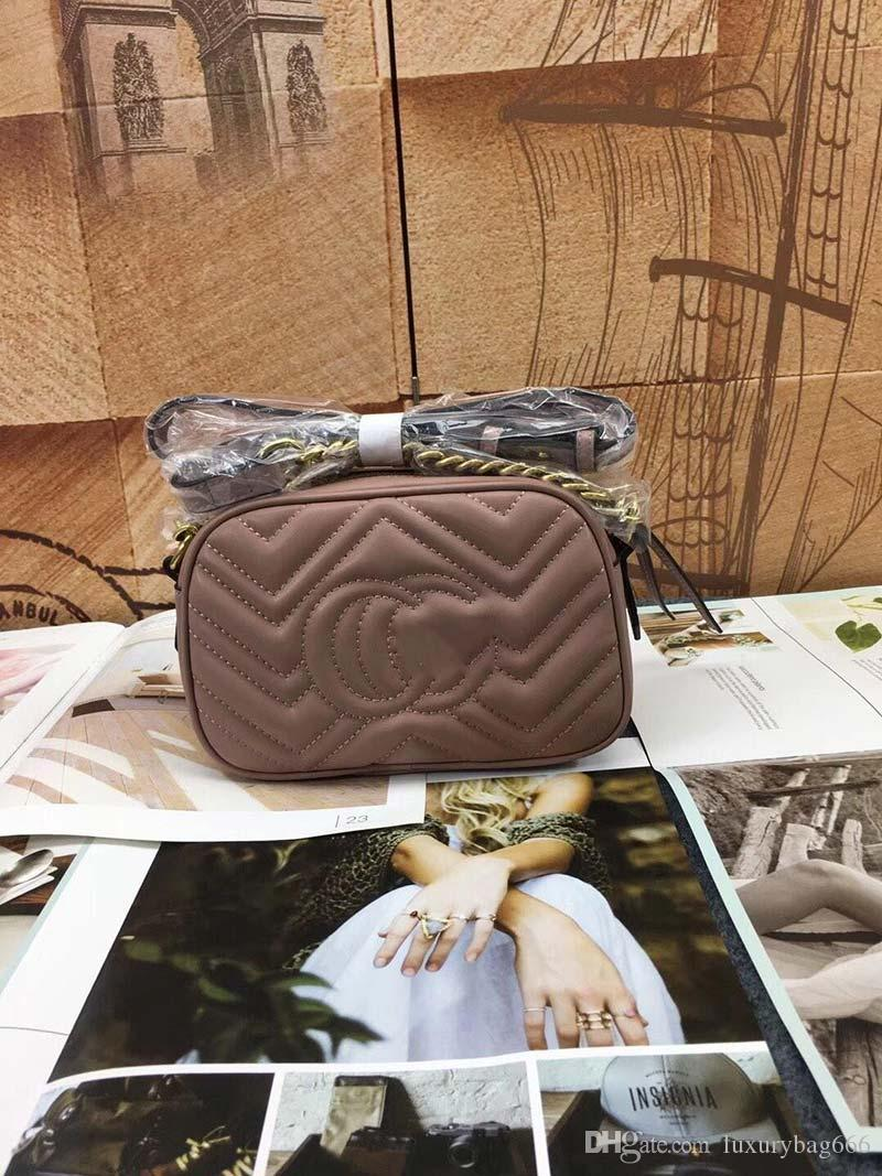 designer bags luxury purse bag genuine leather fashion chain shoulder women designer handbag Good quality purse bag famous fashion bag