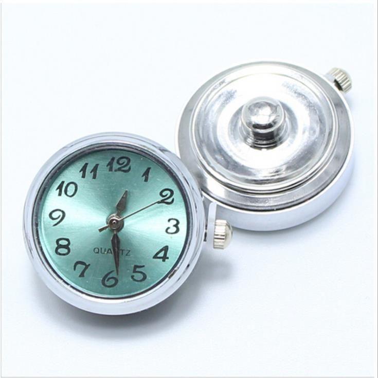 새로운 패션 18mm 누사 생강 스냅 버튼 시계 시계 덩어리 죔 스냅 쥬얼리 DIY 쥬얼리 액세서리 장식품 세트 Noosa