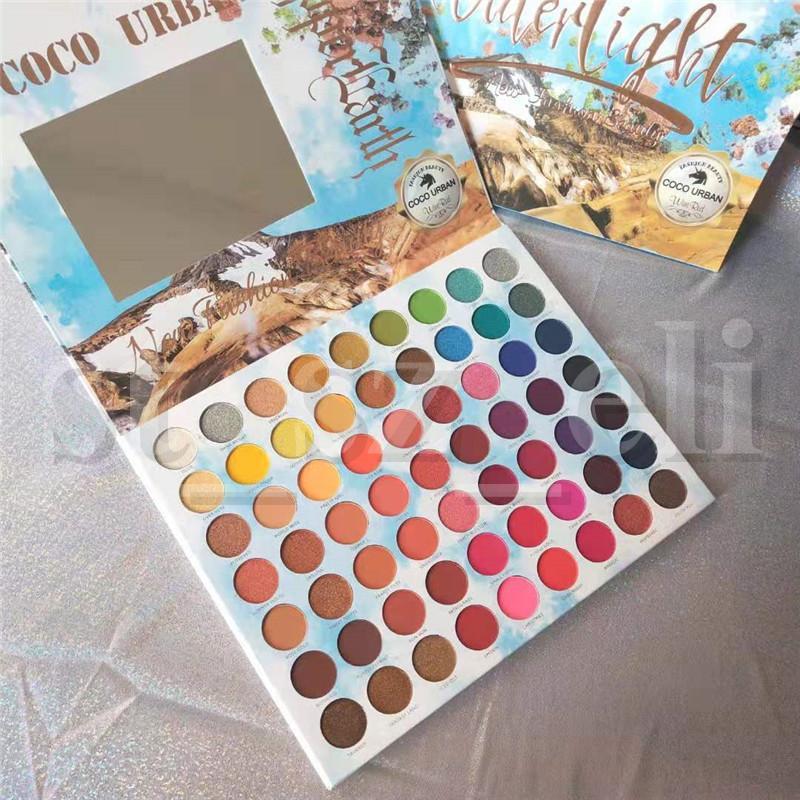 COCO URBAN Eye Makeup Water light Matte Eyeshadow Palette Preseed Pigment 63 Colors Eye Shadow Palette