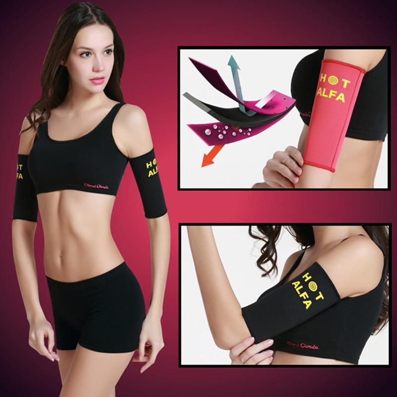 Slimming Arm Shapers Women Weight Loss Arm Shapewear Slimmer Ladies Small No Elastic For Fast Fat Burner Corrector Z2