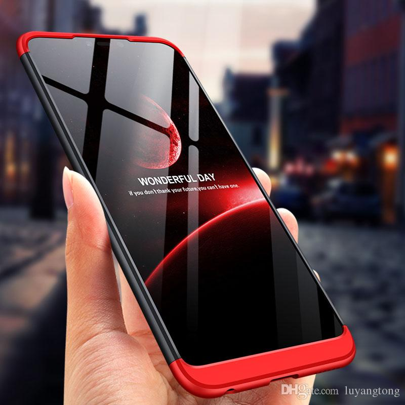 Boîtier Honor 8X Couverture Complète Protection Ultra Mince Dur PC Couverture Arrière Pour Honor 8X Max Coque Téléphone