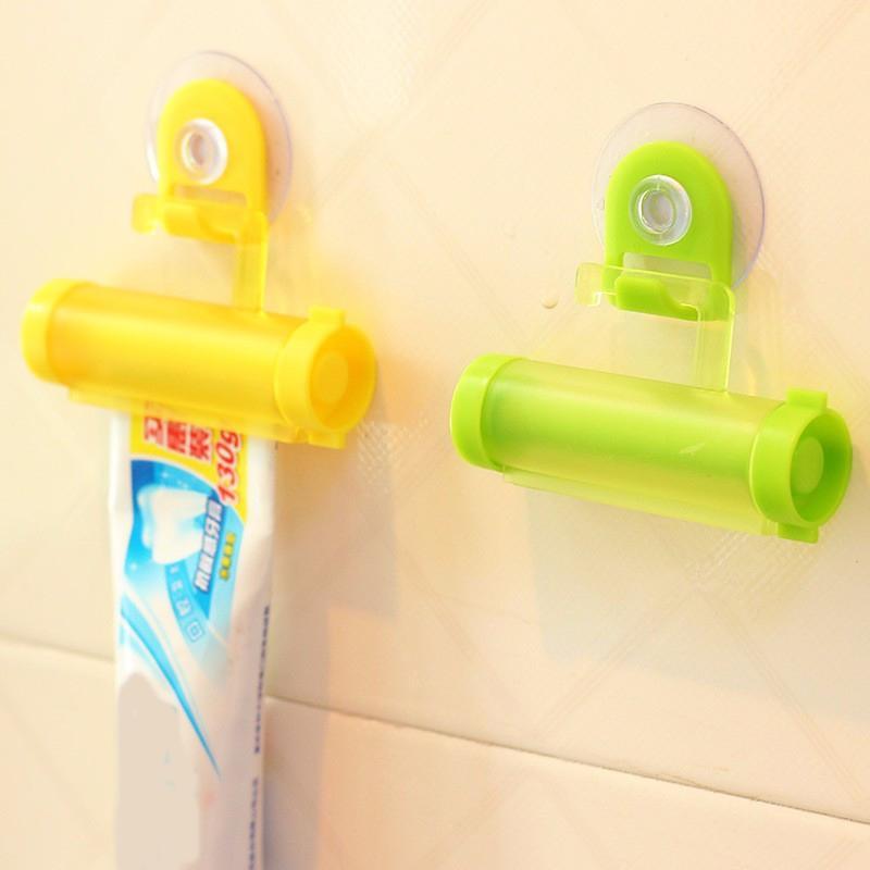 Emme Plastik Rolling Tüp Squeezer Faydalı Diş Macunu Kolay Dağıtıcı Banyo Diş Macunu Tutucu Banyo Ev Aksesuarları