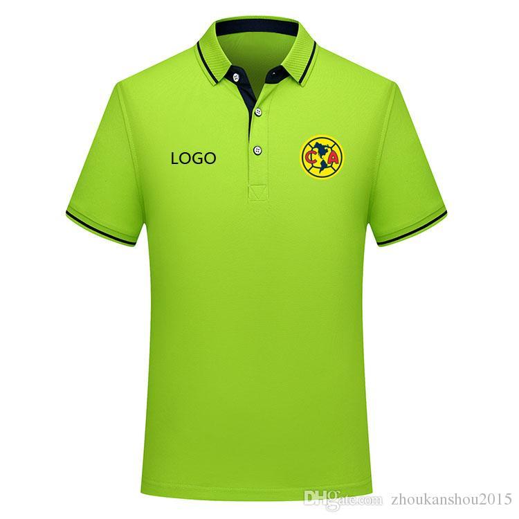 Thai version quality 2019 2020 LIGA MX club america1 Polo Shirt Football shirt soccer jerseys men 19 20 club america Men's Soccer Polo Shirt