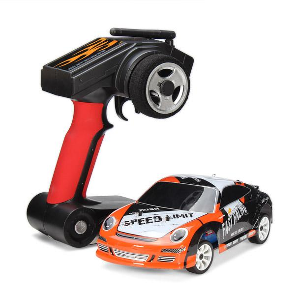 wholesale A252 1/24 RC Racing Car 4WD Drift Remote Control Toys Car With 7.4V 500mAh lithium Battery RTR
