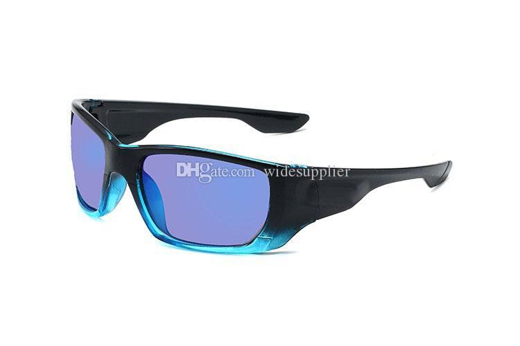 انبهار اللون الدراجات النظارات الشمسية للرجال النظارات الشمسية الرجال النساء تصفح uv400 نظارات الشمس في الولايات المتحدة الأمريكية الصيد كبيرة مربع بارد ظلال 6 ألوان