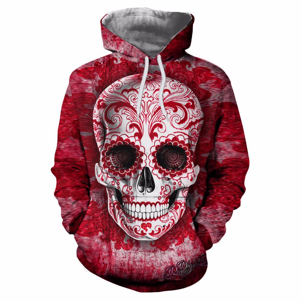 Incluso Número de sudadera con capucha Esqueleto humano violeta 9 Código de impresión Fácil llevar suéter de amantes de sombrero