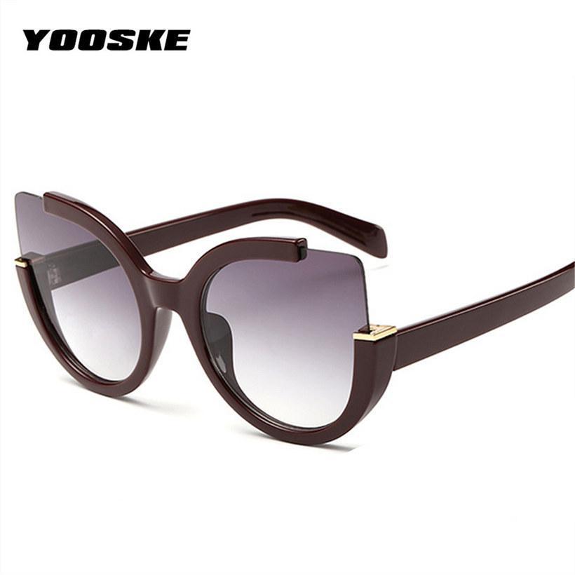 Occhiale da sole Donna Designer di marca Specchietto da sole Occhiali da donna Tonde Lenti per occhiali da vista Eyewear Uv400