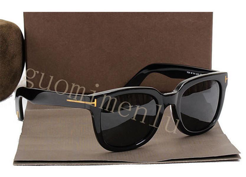 211 FT 2020 James Bond Lunettes de soleil Hommes Marque Designer Lunettes de soleil Femmes Super Star Celebrity Driving lunettes de soleil Tom pour hommes Lunettes
