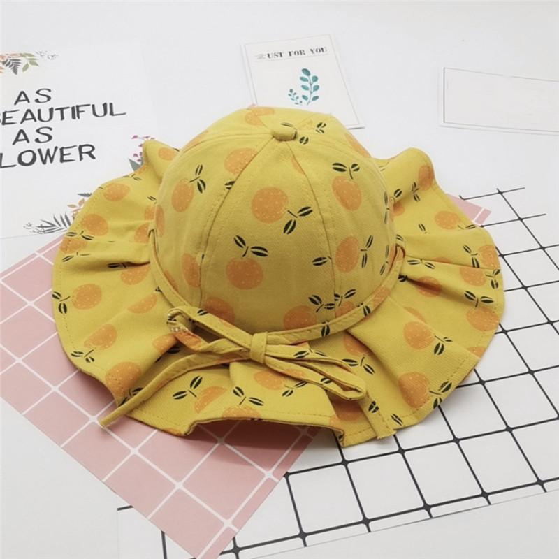 Cute Print Baby Hat Bucket Cap Summer Kids Baby Girl Boy Hat Casual Children Sun Cotton Girls Panama Caps Fisherman
