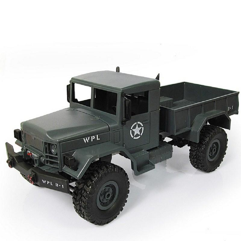 WPL B-14 RC Truck Remote Control Climbing Off-Road Vehicle Toy 2.4G Hobby Military 4 Wheel Drive Car RTR Spare Parts DIY KIT B-1