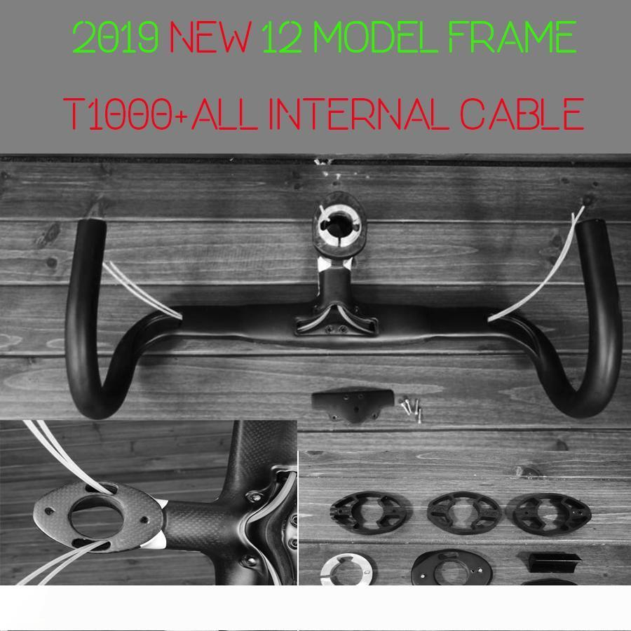 2020 New f12 carbon road bike bicyle frame T1100 1K disc brake road frame all internal cable taiwan made XDB available